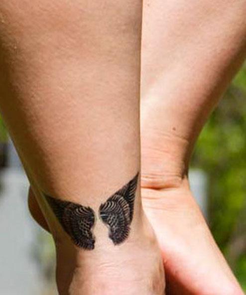 tatuagem temporária asas