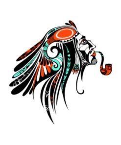 tatuagem-temporaria-indio-com-caximbo