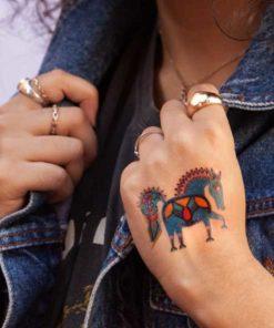 tatuagem temporária pocotó