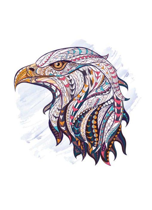 tatuagem-temporária-águia