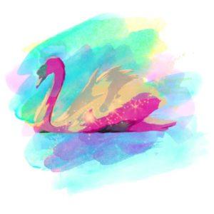 tatuagem-temporária-cisne