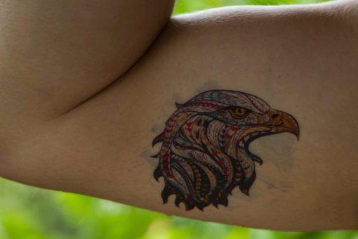 tatuagem-temporaria-águia