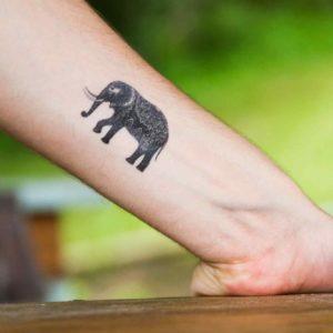 tatuagem-temporária-elefante