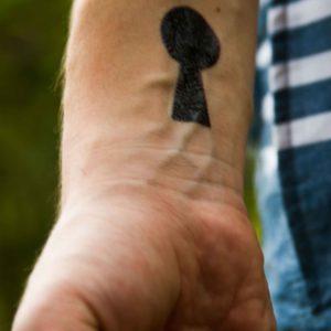 tatuagem-temporária-fechadura