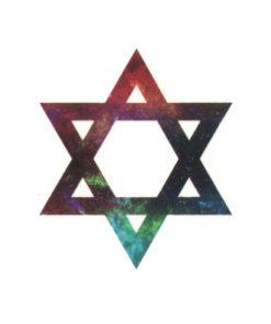 tatuagem-temporaria-hexagrama