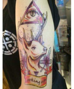 Tatuagem Temporária Alce