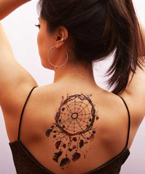 tatuagem temporária