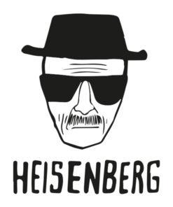 tatuagem temporária heisenberg